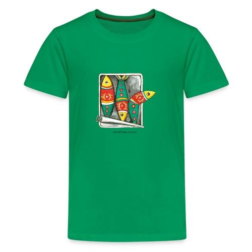 Les sardines - T-shirt Premium Ado