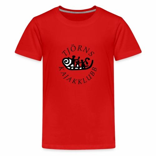 tjkk logo2018 - Premium-T-shirt tonåring