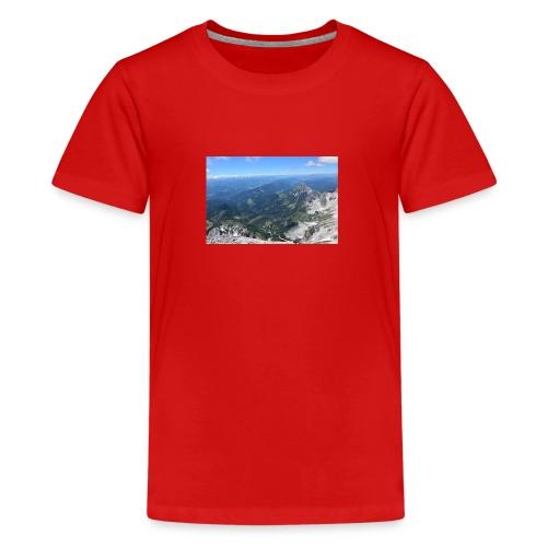 Der Dachstein aussicht - Teenager Premium T-Shirt