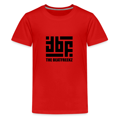 the beatfreekz logo 3 black - Teenage Premium T-Shirt