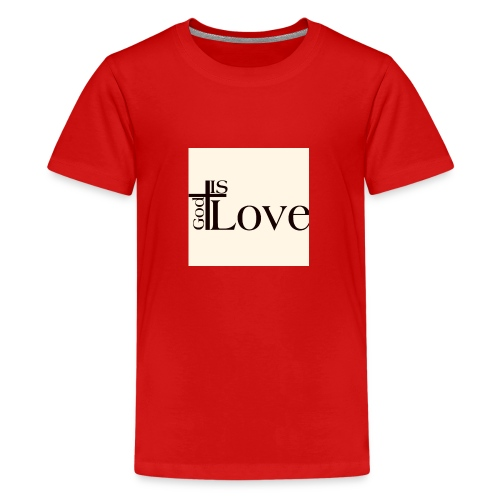 Good love - Teenage Premium T-Shirt
