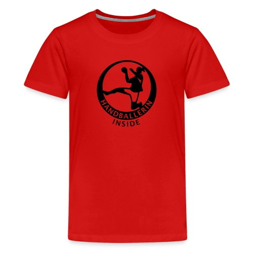 Handballerin inside - Teenager Premium T-Shirt