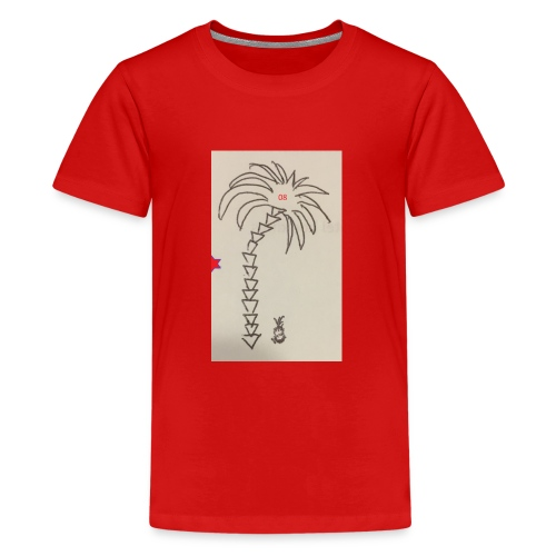 08 Pineapple - Teenager Premium T-Shirt