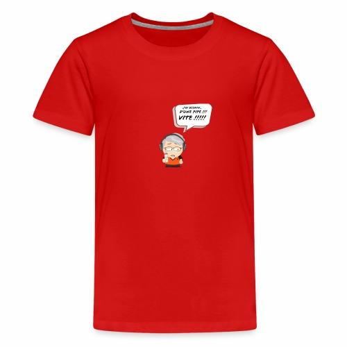 Le Vieux Bourré - T-shirt Premium Ado
