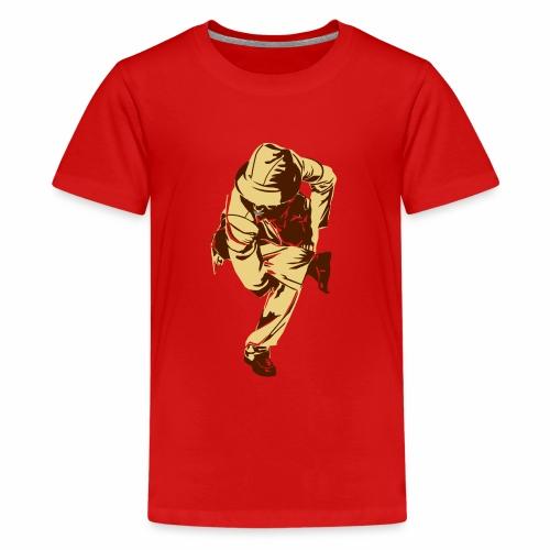 Tänzer Aufdruck - Teenager Premium T-Shirt