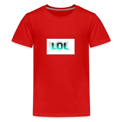 LOL Box Logo Schein Effekt - Teenager Premium T-Shirt