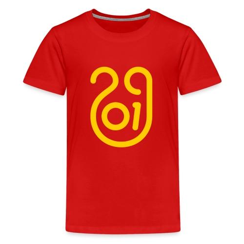 Annee du cochon jaune de terre - T-shirt Premium Ado