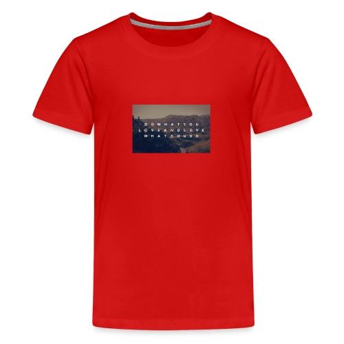 Life - Premium-T-shirt tonåring
