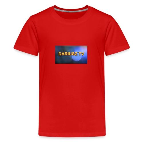 DARIUSZ TV - Koszulka młodzieżowa Premium
