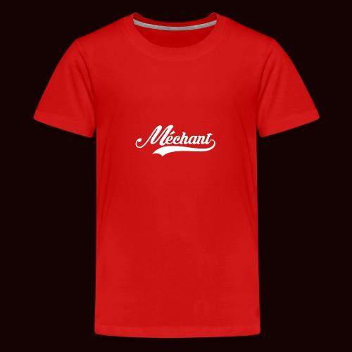 mechant_logo_white - T-shirt Premium Ado