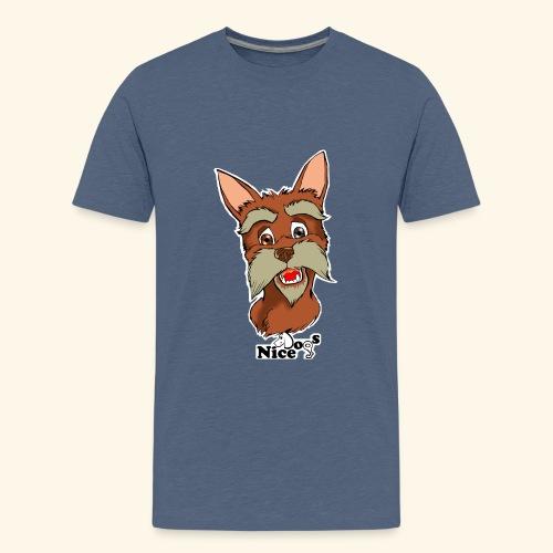 Nice Dogs schnauzer - Maglietta Premium per ragazzi