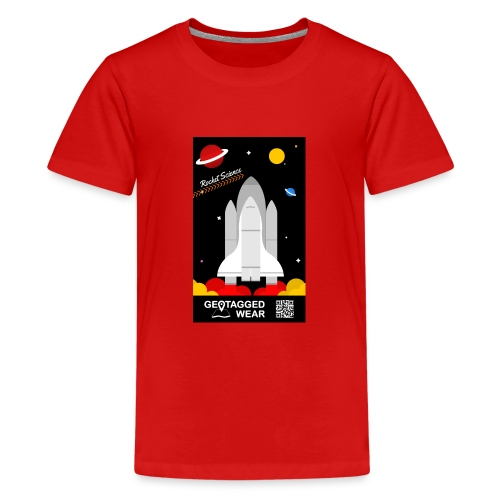 Rocket Science Kids - Teenager Premium T-Shirt