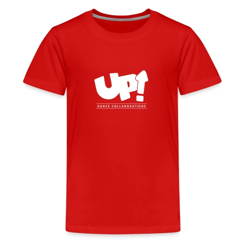 Up Dance White Logo - Teenage Premium T-Shirt