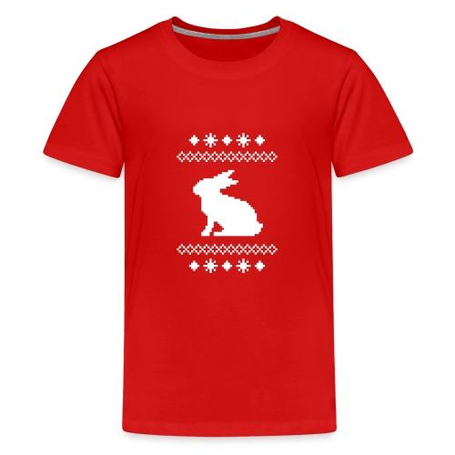 Norwegerhase hase kaninchen häschen bunny langohr - Teenager Premium T-Shirt