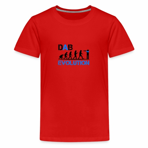 DAB EVOLUTION / Homo Dabens - Maglietta Premium per ragazzi