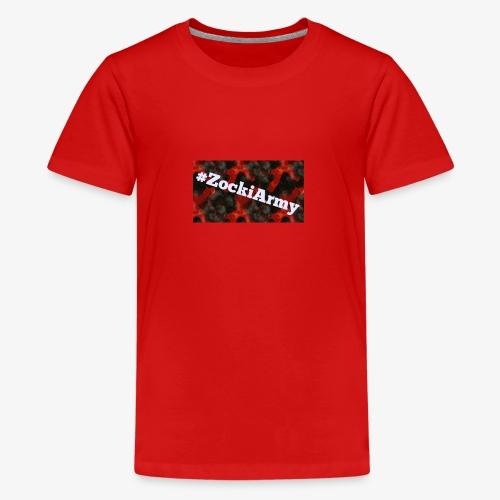 #ZockiArmy - Teenager Premium T-Shirt