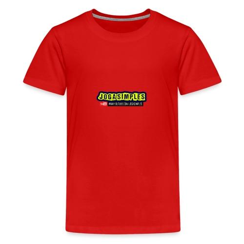 JOGA SIMPLES - Teenage Premium T-Shirt