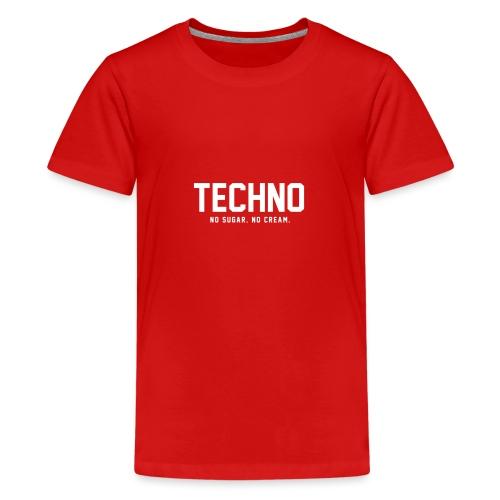 Dark Techno - Teenage Premium T-Shirt