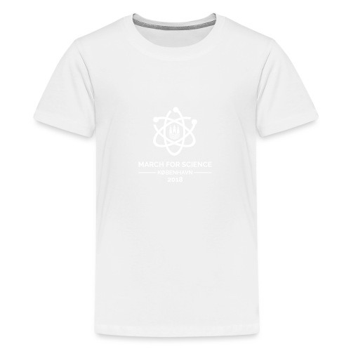 March for Science København 2018 - Teenage Premium T-Shirt