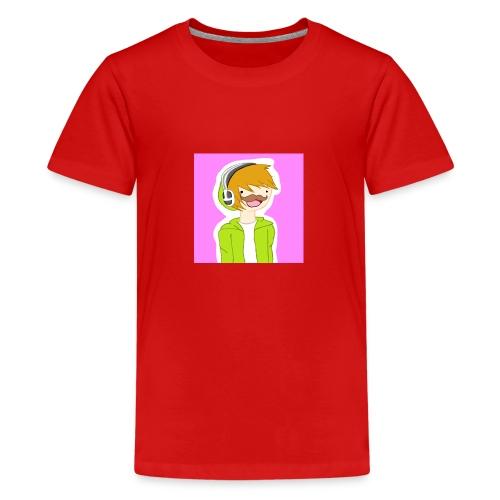 Kanavani logo - Teinien premium t-paita