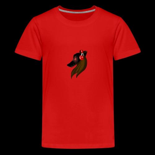 Shadow Wolf Logo - Teenager Premium T-Shirt