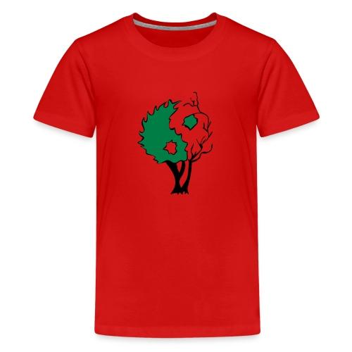 Yin Yang Arbre - T-shirt Premium Ado