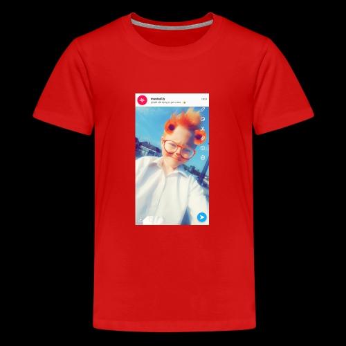gafywstgfqiwd - Teenage Premium T-Shirt