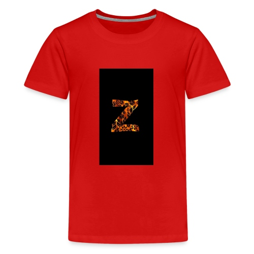 Das Z in tiger format - Teenager Premium T-Shirt