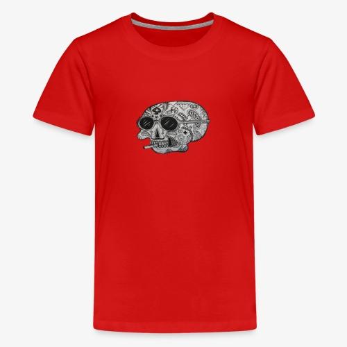 SKULLY - Teenager Premium T-Shirt
