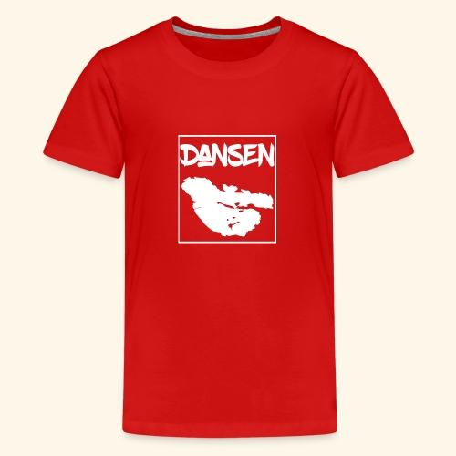 DansenKartaVit - Premium-T-shirt tonåring