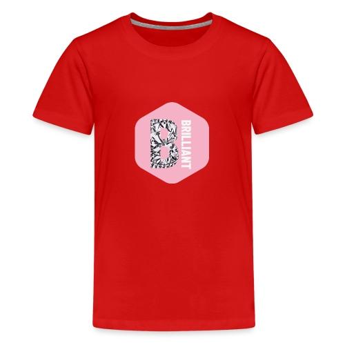 B brilliant pink - Teenager Premium T-shirt