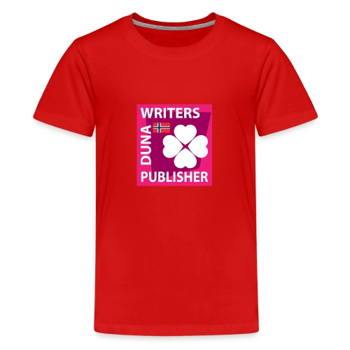 Duna Writers Publisher Pink - Premium T-skjorte for tenåringer