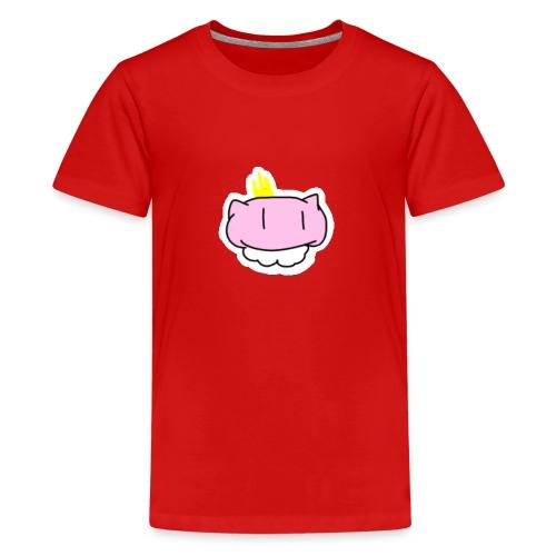 MewKungen! - Premium-T-shirt tonåring