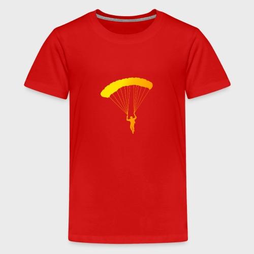 Colorfull Skydiver - Teenager Premium T-Shirt