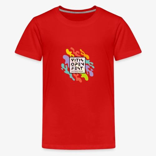 VitisOpenFest design - Teinien premium t-paita