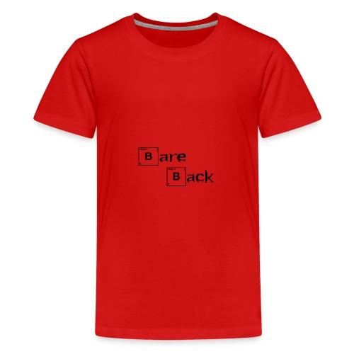 bare back negro - Camiseta premium adolescente