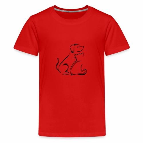 Haustiere bedrucken - Teenager Premium T-Shirt
