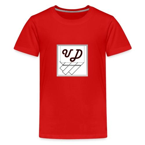 Abstract UD - Teenage Premium T-Shirt