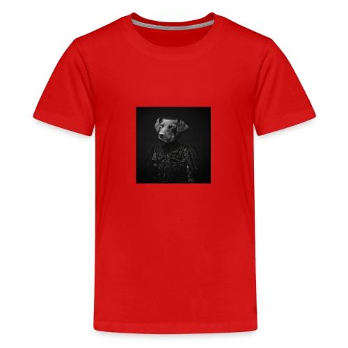 Lady Dog - Teenager Premium T-Shirt