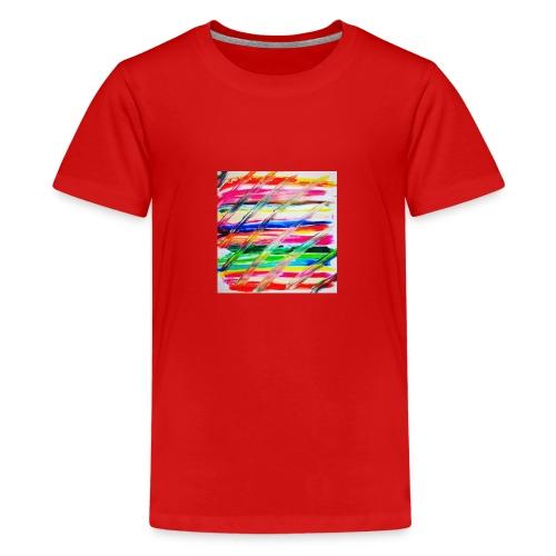 Rainbow Cross - T-shirt Premium Ado