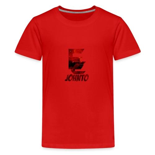 Evolve Johnto Logo Transparent 1 png - Teenage Premium T-Shirt