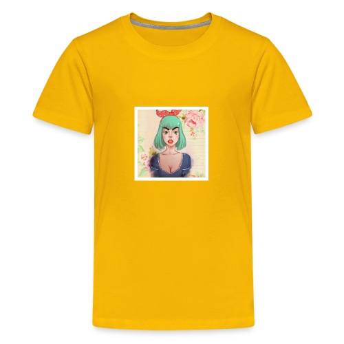 elena of spain - Teenage Premium T-Shirt