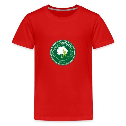 EARTHLETE Brand Logo - Teenager premium T-shirt