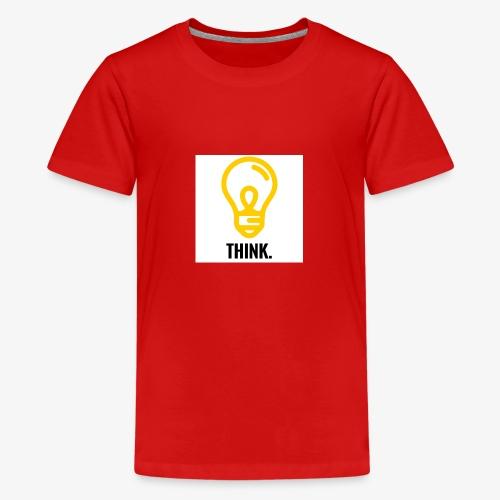THINK - Maglietta Premium per ragazzi