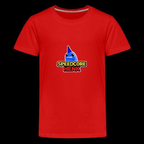Speedcore Henk Logo 2017 - Teenager Premium T-shirt