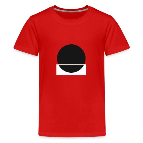 Bianco e nero - Teenage Premium T-Shirt