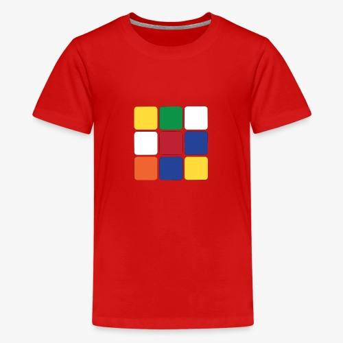 Square - Maglietta Premium per ragazzi