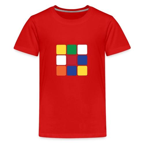 Square - Teenage Premium T-Shirt