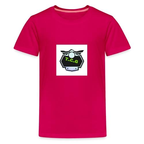 Cool gamer logo - Teenage Premium T-Shirt