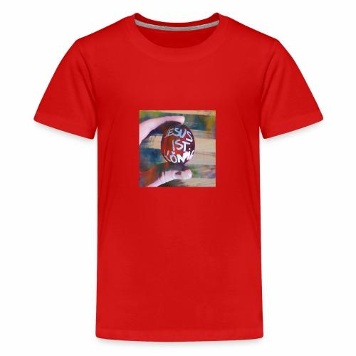 Jesus ist König - Teenager Premium T-Shirt